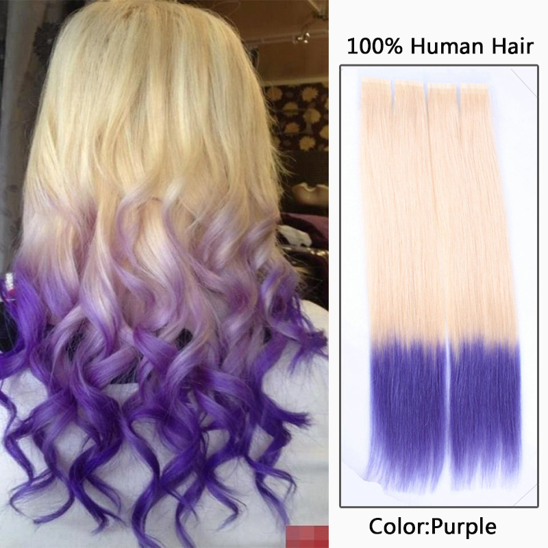 Tape Hair Extension T 613 Purple Tape Hair Extensions Origin
